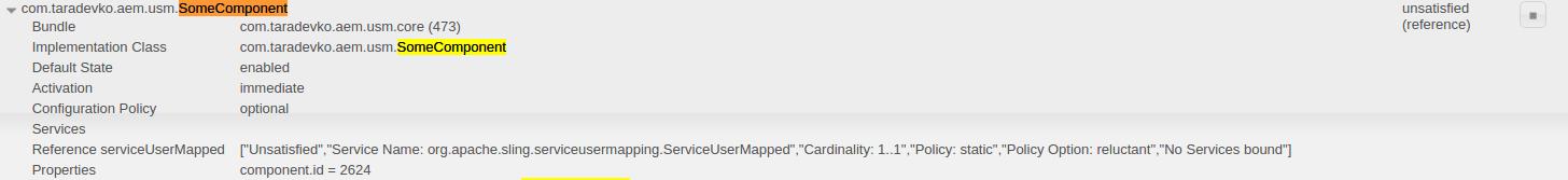 AEM: Service User (Mapper) - do you really know it? - AEM corner