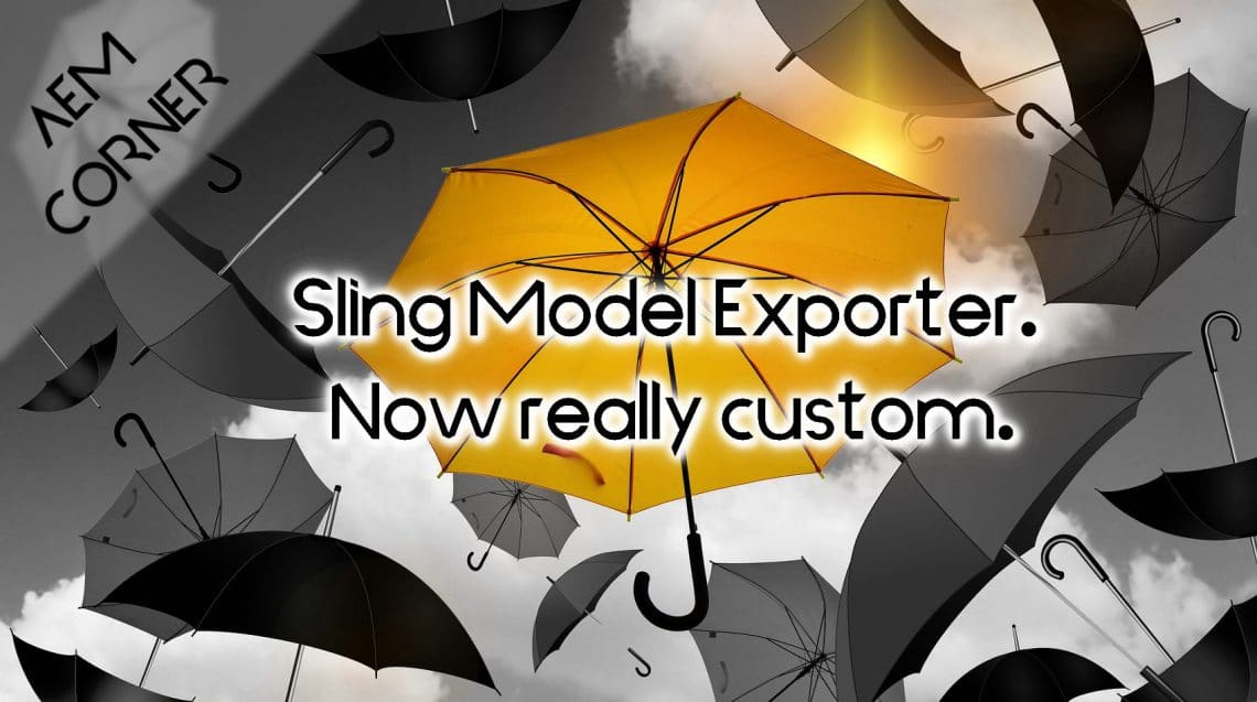 Header image aem custom sling model exporter